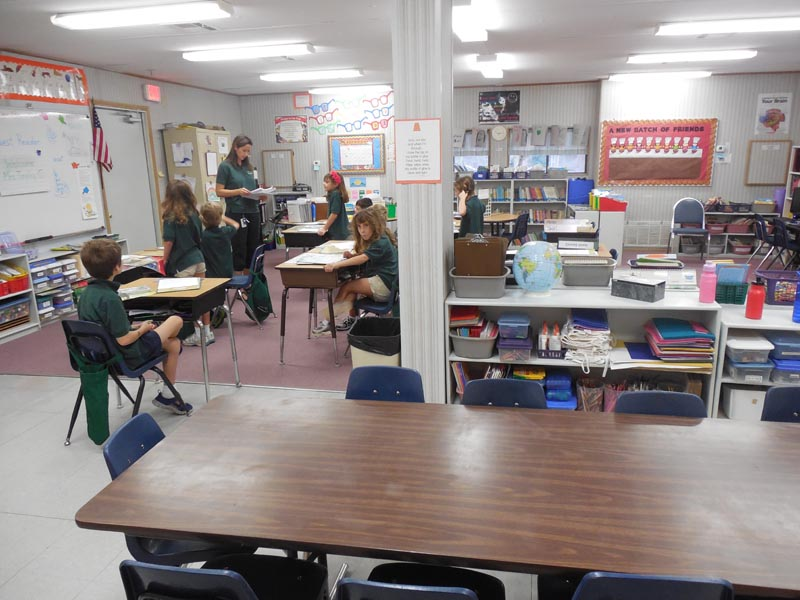 First and Second Grade classroom